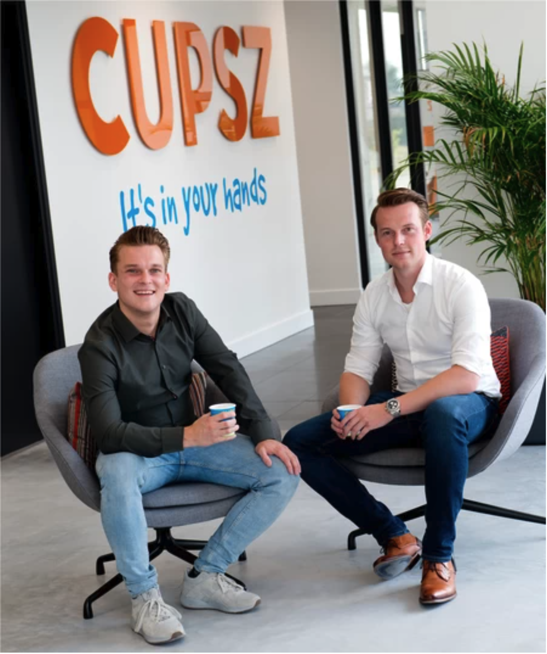 CUPSZ Founders And Brothers Success Story with HYBRID Software