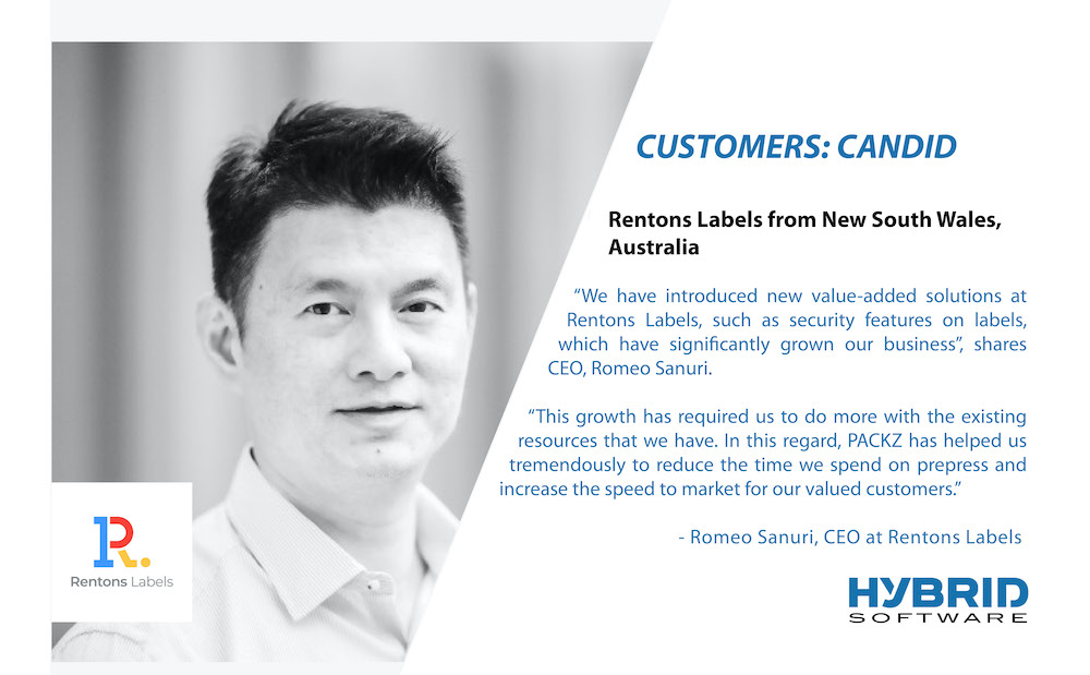 Rentons Labels CEO Romeo Sanuri speaks on success with PACKZ from HYBRID Software