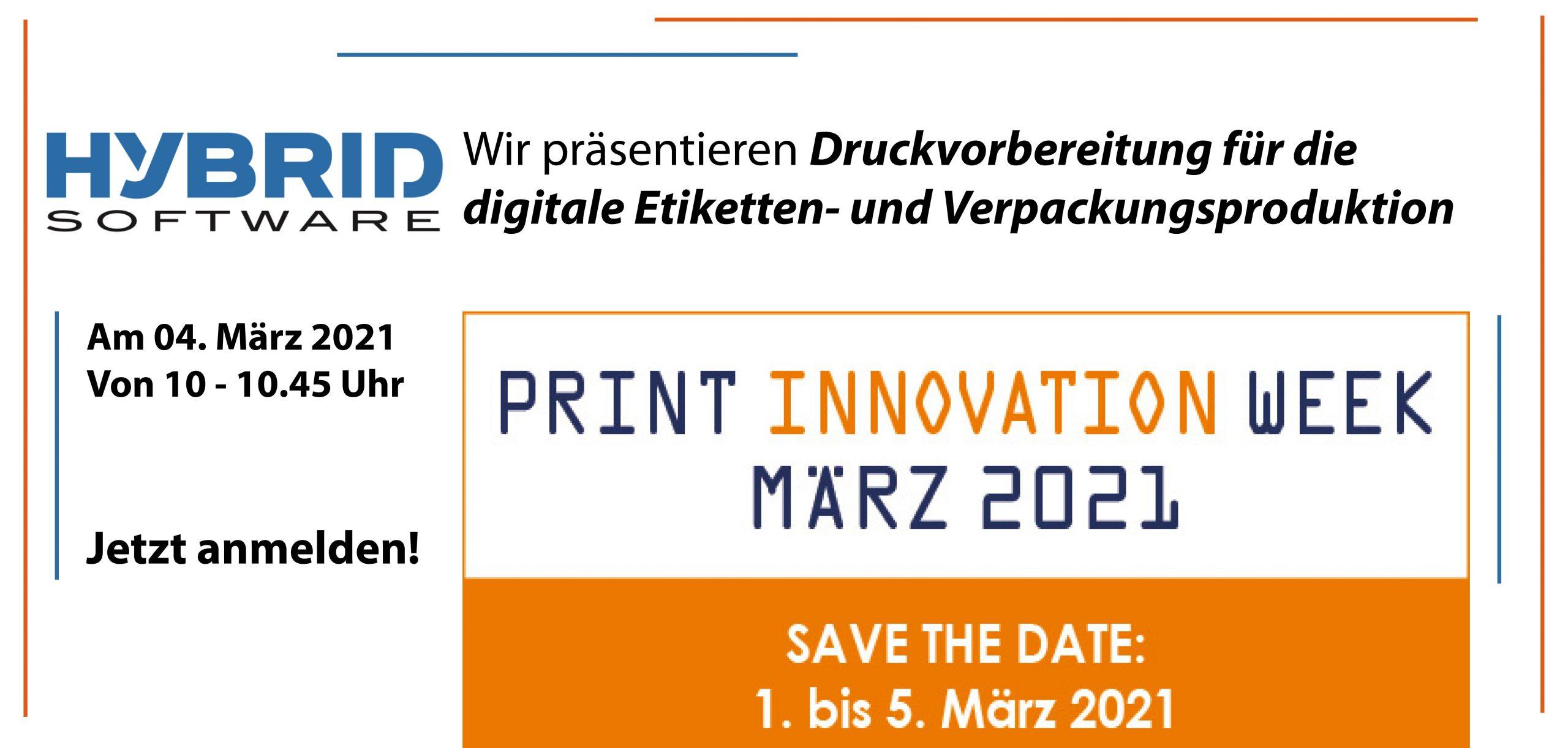 HYBRID Software Print Innovation Week