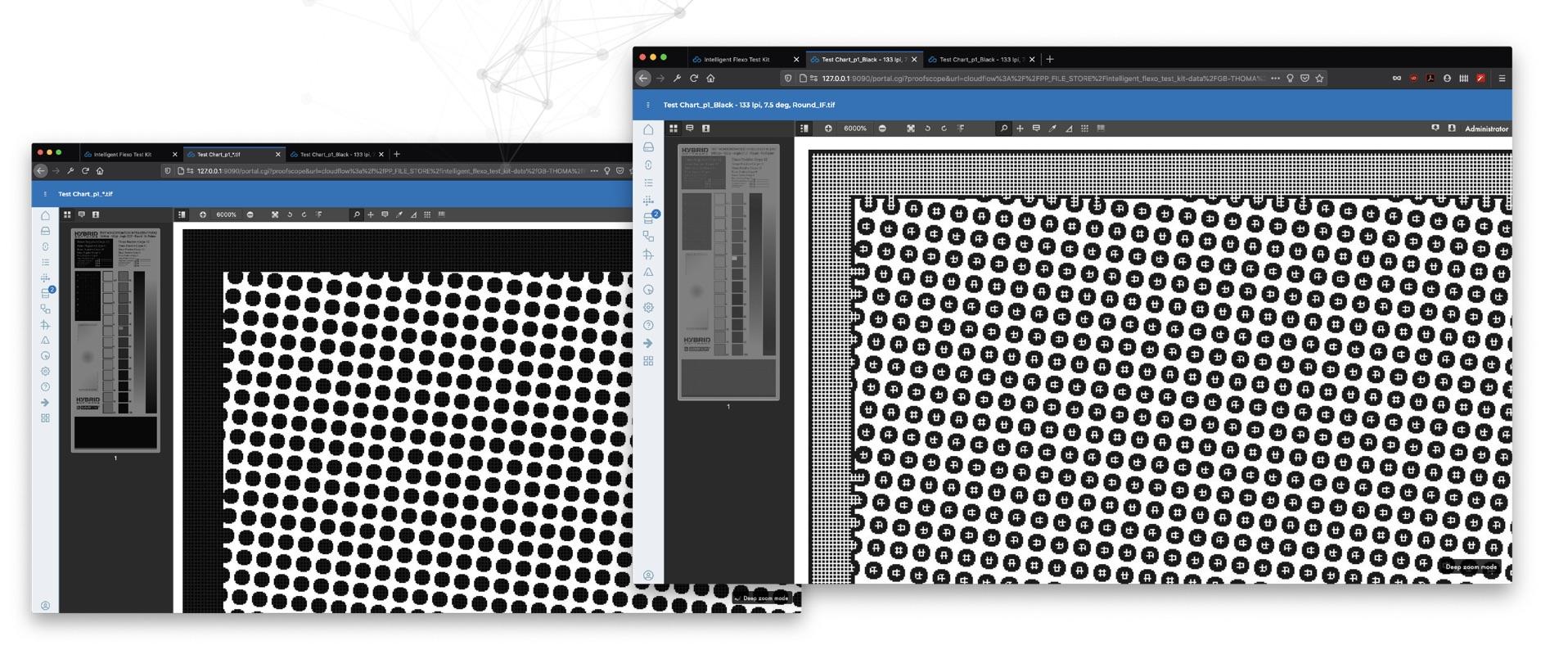 Cell Wall Intelligent Flexo