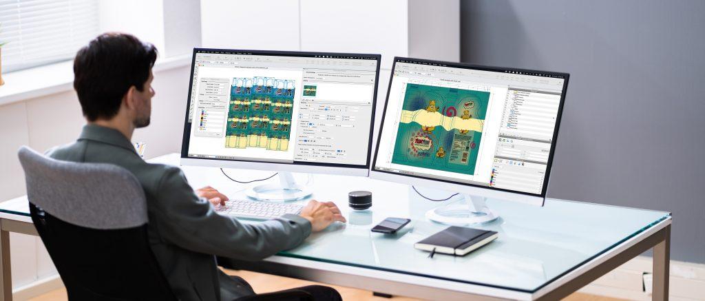 PACKZ Environments Multi Screen Interface